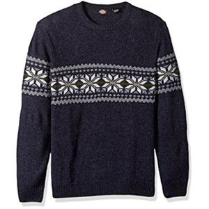 Dickies Ragg Wool Pullover Sweater, XL Blue NWT